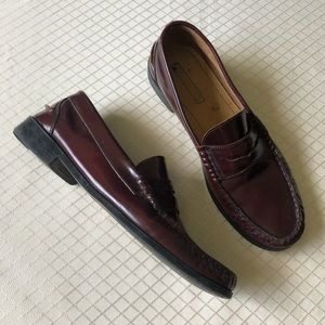 Tommy Hilfiger Mens Leather Loafers